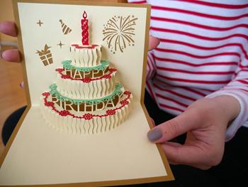 Obrázek 3D přání k narozeninám