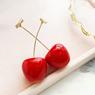Obrázek z Ovocné náušnice - třešně