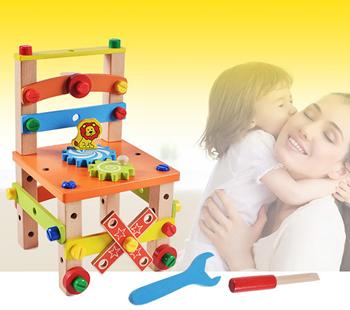 Obrázek Dřevěná vzdělávací židlička