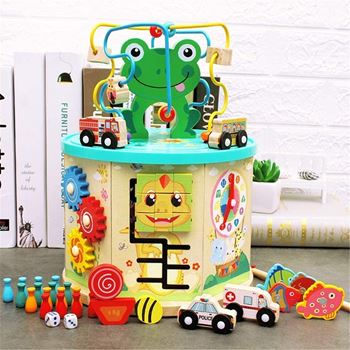 Obrázek Dřevěná vzdělávací hračka