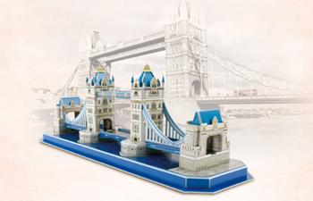 Obrázek 3D puzzle pro děti - most