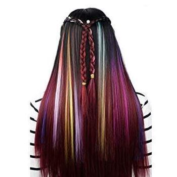Obrázek Barevné příčesky do vlasů - fialové