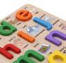 Obrázek z Dřevěná abeceda se zvířátky