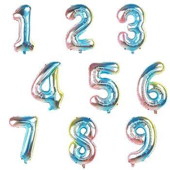 Obrázek Nafukovací balónky čísla - 1