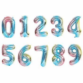 Obrázek Nafukovací balónky čísla - 4