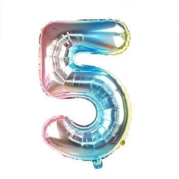 Obrázek Nafukovací balónky čísla - 5