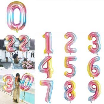 Obrázek Nafukovací balónky čísla - 6