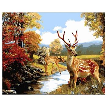 Obrázek z Malování podle čísel - jelen