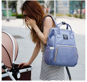 Obrázek Batoh pro maminky - modrý