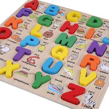Obrázek Dřevěná anglická abeceda