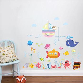 Obrázek Samolepky na zeď - Podmořský svět