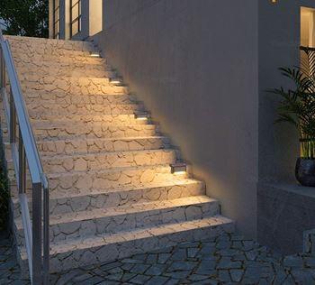 Obrázek z Solární světlo na schody