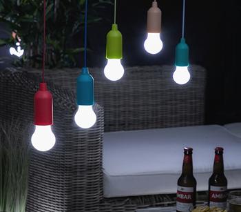 Obrázek Lampa Pull - modrá