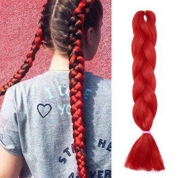 Obrázek z Vlasový příčesek - červený