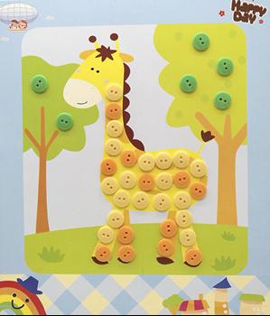 Obrázek Samolepky pro děti - knoflíky