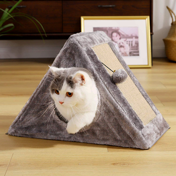 Obrázek Škrabadlo pro kočky - domek