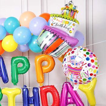 Obrázek z Narozeninové balónky - duhové