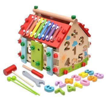 Obrázek Dětský dřevěný domeček - Vzdělávací