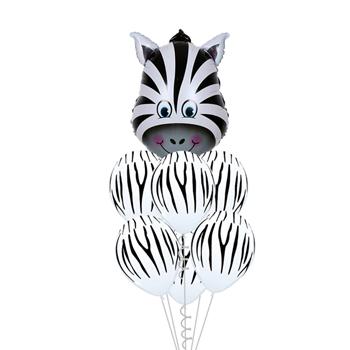 Obrázek z Veselé balónky - zebra