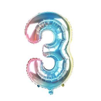 Obrázek Nafukovací balónky čísla - 3