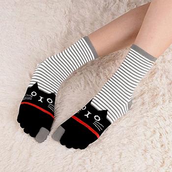 Obrázek Prstové ponožky - kočky