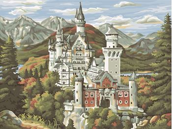 Obrázek Malování podle čísel - zámek