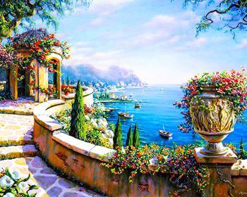 Obrázek Malování podle čísel - moře
