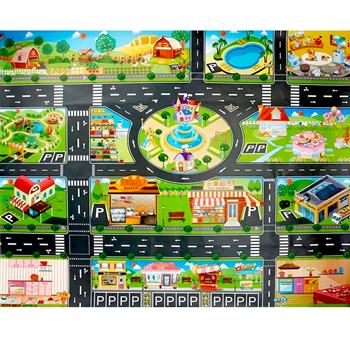 Obrázek Hrací podložka - město