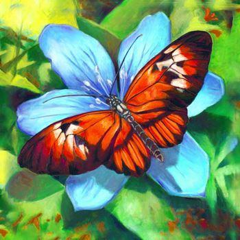 Obrázek z Diamantové malování basic - motýlek