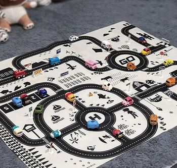 Obrázek z Hrací podložka autíčka