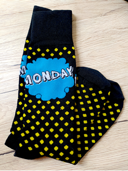 Obrázek z Ponožky dny v týdnu