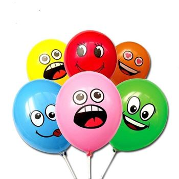 Obrázek Balónky s obličejem