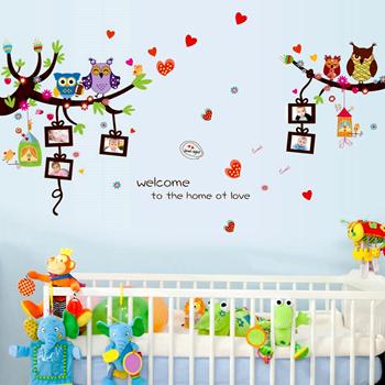 Obrázek Samolepky na zeď - Rámečky