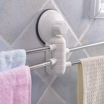 Obrázek z Věšák do koupelny - šedý