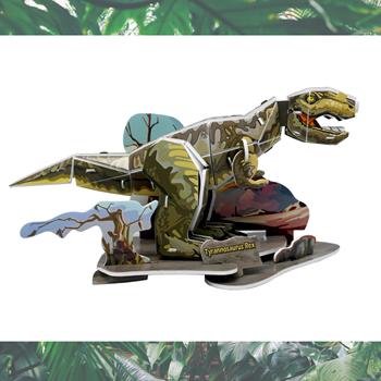 Obrázek 3D model - dinosaurus