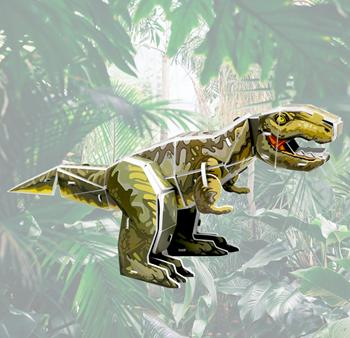 Obrázek z 3D model - dinosaurus