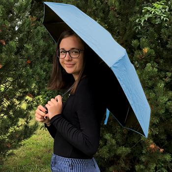 Obrázek Skládací deštník - modrý