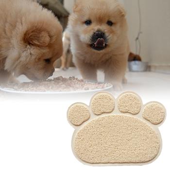 Obrázek Podložka pod psí misku - béžová