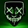 Obrázek z Děsivá svítící maska - zelená