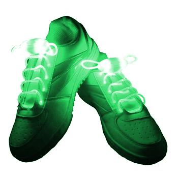 Obrázek LED svítící tkaničky - zelené