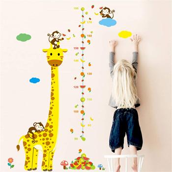 Obrázek z Nalepovací metr - žirafa
