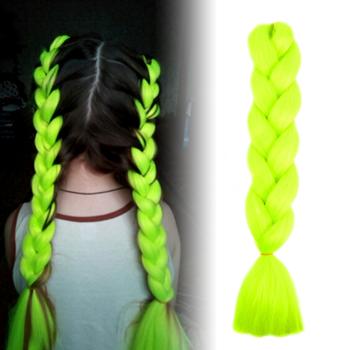 Obrázek Vlasový příčesek - zelenožlutý