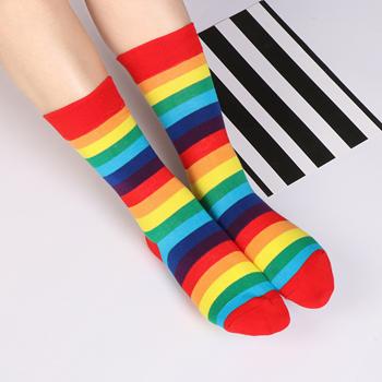 Obrázek Duhové ponožky
