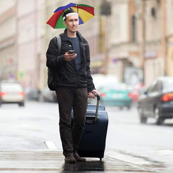 Obrázek z Deštník na hlavu