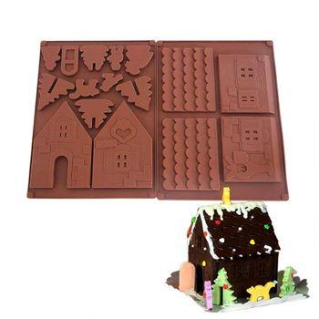 Obrázek Forma na čokoládu - chaloupka