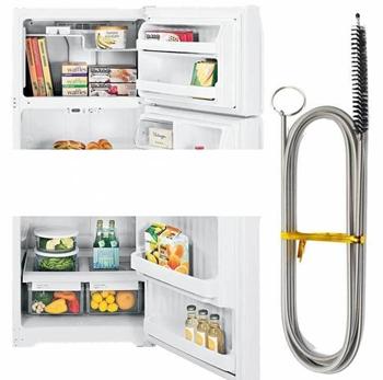 Obrázek Čistící nástroj na odtokový kanálek lednice
