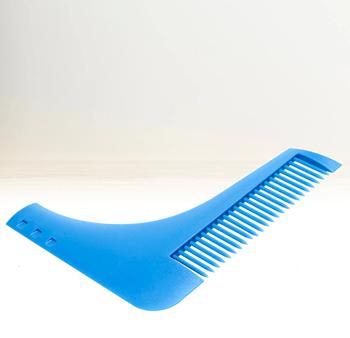 Obrázek Hřeben na vousy - modrý