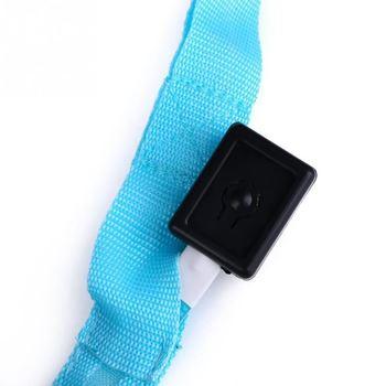 Obrázek z Textilní svítící vodítko - modré