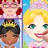 Obrázek z Dětské samolepky - princezny