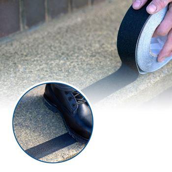 Obrázek Protiskluzové samolepící pásky - černé